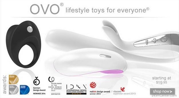 OVO vibrátorok és egyéb szexuális segédeszközök